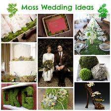 moss wedding ideas the natural choice french wedding style