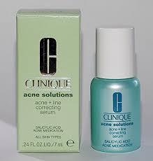 clinique acne solutions acne line correcting serum