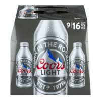 coors light cold hard facts coors light beer 9ct 16oz top aluminum pint id required