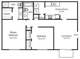 Apartments Floor Plan The Enclave Apartments Rentals Memphis Tn Apartments Com