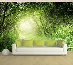 path full wall mural garden path full wall mural
