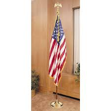 3 X 5 Flags Dixie Flag Texas Colonial Nyl Glo U S Flag With Fringe 2 Ft X