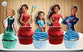 elena of avalor cupcake toppers elena of avalor cake pop