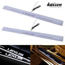johnson lexus nx amazon com kaizen lexus is illuminated door sill entry guard led
