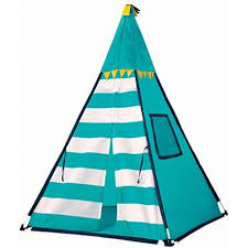 amazon com discovery kids turquoise adventure teepee tent toys