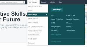 website menu design design patterns for mega navigation dropdown menus