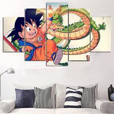 movie home decor 2018 dragon ball z goku movie home decor hd printed modern art