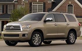 toyota suv sequoia used 2010 toyota sequoia suv pricing for sale edmunds