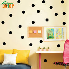 wall decal make wall decor more fun with polka dot wall decals