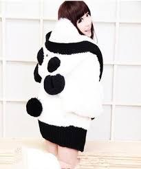 panda sweater panda sweater on the hunt