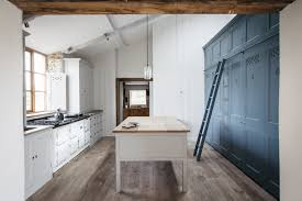 kitchen dorset farmhouse kitchen blue cabinet wall plain english