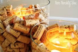 wine corks wine cork candle holder two twenty one