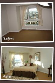 Bed Placement In Bedroom Staging A Master Bedroom Placing The Bed In The Corner Creating