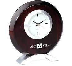 office desk office desk clocks timekeeper 4 swivel black desktop
