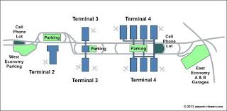 phx map sky harbor international airport location parking and