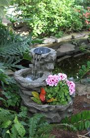 garden ideas photos beautiful small fountain for garden ideas with fireworks pump light