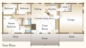 cabin plan bedroom logoor wonderful three homes plans lrg house 3