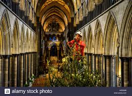 ecclesiastical carpenter richard pike adds 1 000 fairy lights to