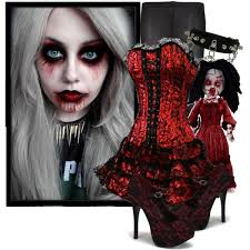 living dead dolls bloody mary polyvore