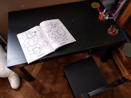 Desk For Drawing Diy Kids Desk From Ikea Coffee Table U2013 Noteworthy U2014 The Journal Blog