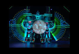 Light Cyber Lighting Show Light Vision Variety Shows Shows Performers