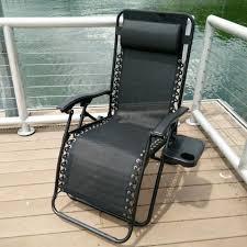 foldable reclining zero gravity chair black u2013 hemma online