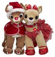 rudolph clarice build bear workshop pampered presents