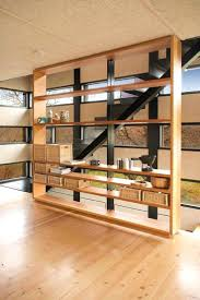 Hanging Curtain Room Divider by Room Divider Curtain Gallery Of Using Bookcases As Dividers Design