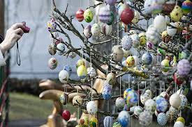 easter egg trees 9 easter traditions to ponder while scarfing your
