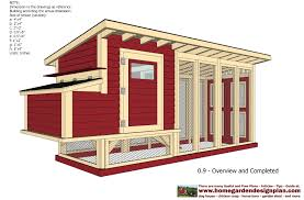 free chicken coop building plans pdf with simple poultry house