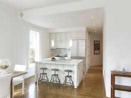 White Small Kitchen Designs Prospect Park West Kitchen Contemporary Kitchen New York