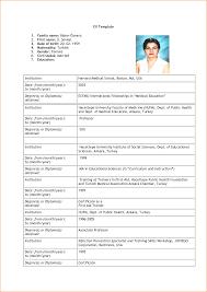 Simple Job Resume Template Sample Job Resume Format Download 76 Images 6 Basic Resume Format
