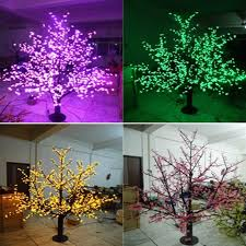 1536leds 200cm outdoor led cherry blossom tree light for
