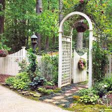 Arbor Ideas Backyard 17 Best Garden Fence Images On Pinterest Garden Fences Fence