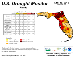 Us Drought Map Florida Under Exceptional Drought Conditions The Stream State