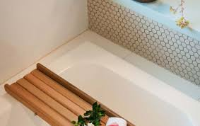 laptop bathtub bathroom bathroom amazing wooden bathtub caddy reading rack 104