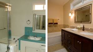 Plain Bathrooms Bathroom Remodel Before And After Dasmu Us