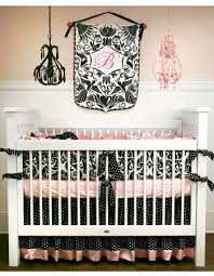 Black And Gold Crib Bedding 200 Best Pink And Black Images On Pinterest Baby Rooms