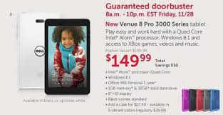 dell black friday dell black friday 2014 ad leaks with sub 200 windows 8 1 tablet