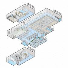 rendered grocery store plan google search supermarket pinterest