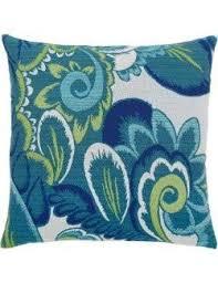 floral wave sunbrella outdoor pillows nautical luxuries