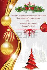 new year stuff business greeting card for christmas and new year contains a