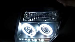 black nissan pathfinder 2005 pathfinder r51 navara d40 2005 2012 ccfl angel eye projector
