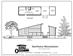 Smart Home Floor Plans Northwest Mountaineer Tiny Smart House