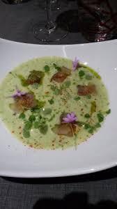 comment cuisiner le silure gravlax de silure sur gaspacho de concomre picture of le laurier