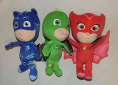 pj masks gekko stuffed toy stuffed dolls stuffed heroes