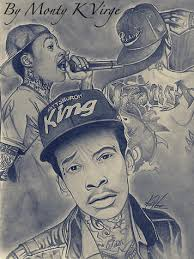 khalifa drawing by monty virge