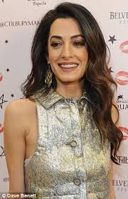 is amal clooney hair one length wonder how amal clooney can go from short to long hair overnight