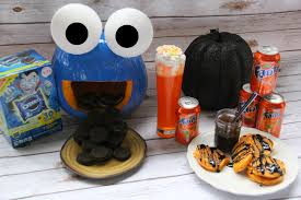 perfect halloween party ideas with fanta orange soda and oreo a