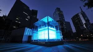 Cube Lights Brilliant Cube U0027 Lights Up Gangnam In Seoul Cnn Travel